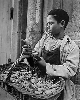 Flute Seller by Francesc Catalá Roca