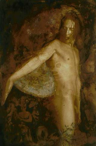 Baroque Nude by Ann Rogers