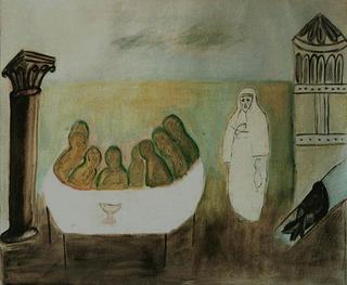 The Last Supper by Ana González Prieto