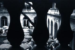 Balcony of Art Institute by Robert A. Schaefer, Jr.