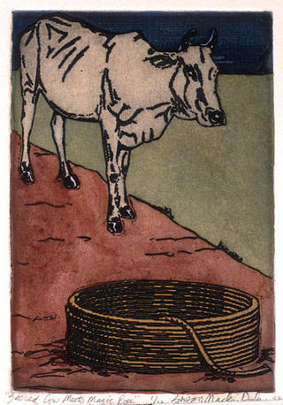 Sacred Cow Meets Magic Rope by Susan Mackin Dolan