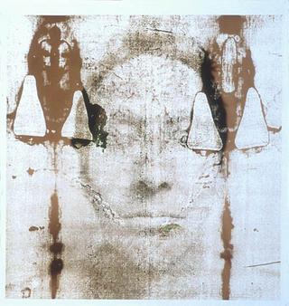 Shroud Stains I by Karen Ingham