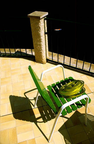 Green Chair Visitation by Jeremy Webb