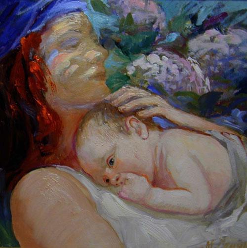 Motherhood II by María Carrera