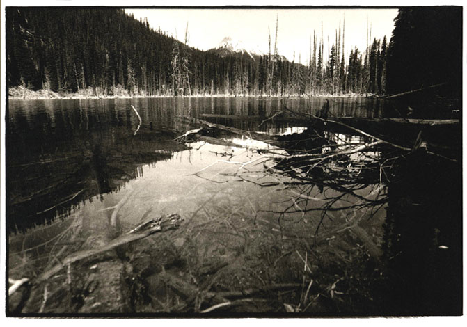 Canadian Rockies, 1999 by Toby Deveson