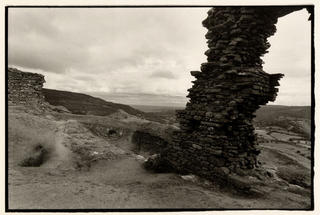 Castell, Dinas Bran, Wales, 1995 by Toby Deveson
