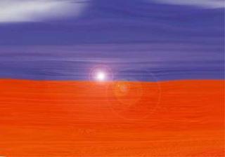 Orange Land by Nasir Shiraz