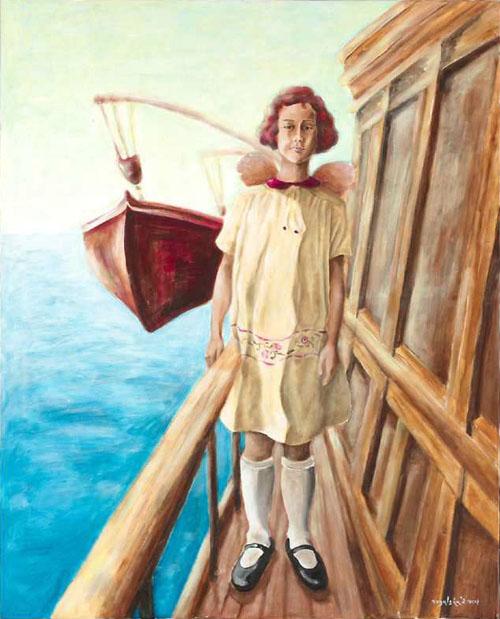 Captain's Daughter Nika Tita by Agata Rogalska
