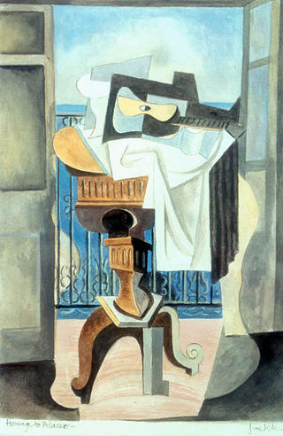 Homage to Picasso by June Lisle