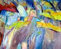 Rocks LLamberis II by June Lisle
