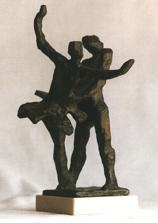 Dancing Couple by Emilio Velilla