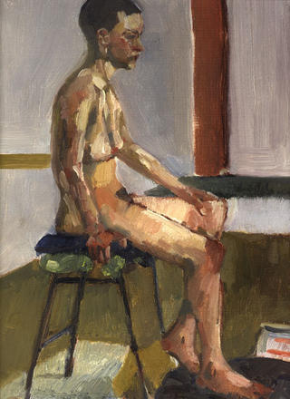 Seated Female Figure by John Govett