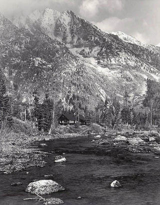 Cottonwood Creek, Teton Park, Wyoming. by Larry Friedman