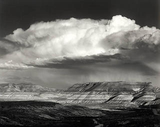 East Hill Thunderstorm by Larry Friedman