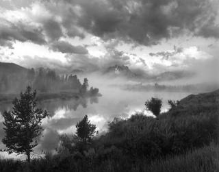 Foggy Oxbow by Larry Friedman