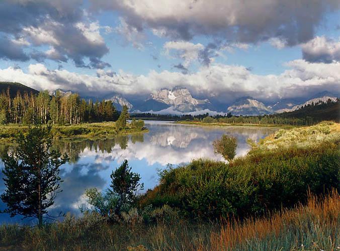 Oxbow Snake River by Larry Friedman