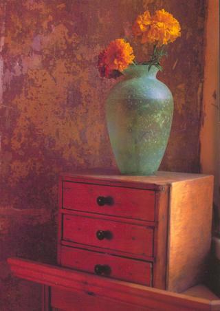Amber Flower 1 by Cassandra Jones