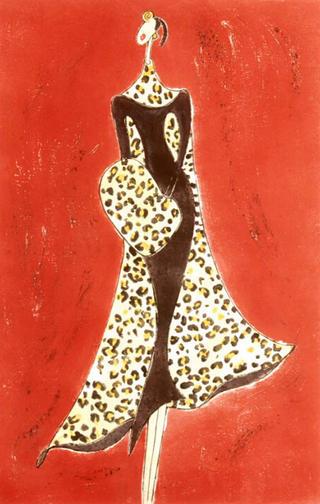 Laura Lee's Leopard Look by Alece Birnbach