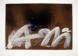am by Antoni Tàpies