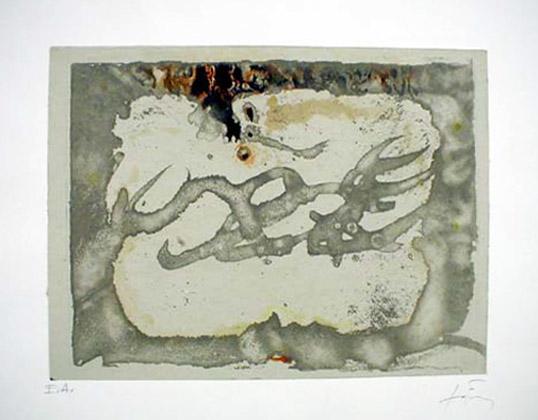 Untitled by Antoni Tàpies