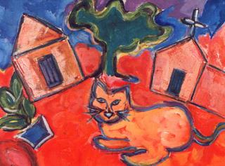 Catholic Cat by Evelina R. Craven