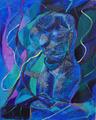 Blue Torso by Federico Winqvist Estrada