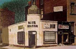 Blue Beacon by John Baeder