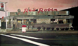 Red Robin by John Baeder