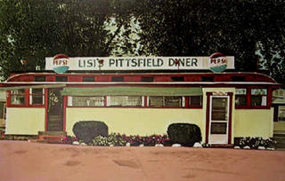 Lisis Pittsfield Diner by John Baeder