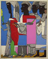 The Processional by Romare Bearden