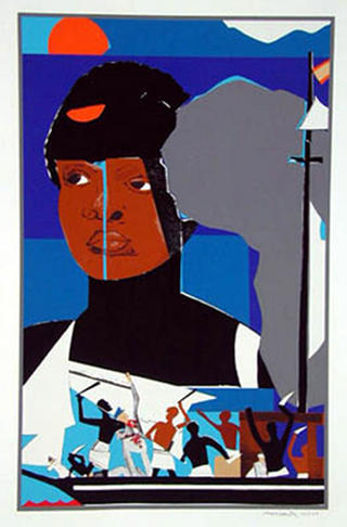 Slave Ship by Romare Bearden