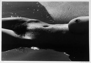 Nude 1 by Lucien Clergue