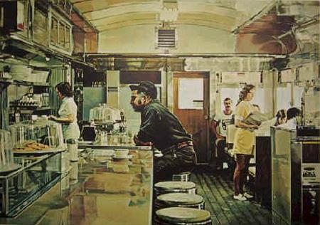 Unadilla Diner Original Art By Ralph Goings Picassomio