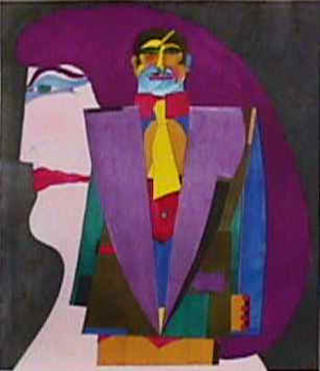 Couple 1 by Richard Lindner