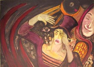 Image 8. Portfolio: Le Troisième Oeil (The Third Eye) by Marcel Marceau
