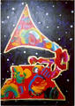 Grammy by Peter Max