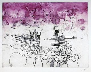 Judgment 5 (Judgments Portfolio) by Roberto Matta