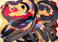Happy Battle by Karel Appel