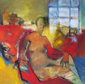 Sitting Nude by Arthur Bernard