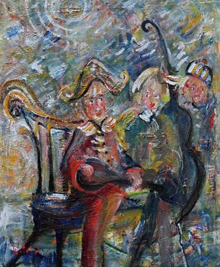 After the Concert by Witold Podgorski