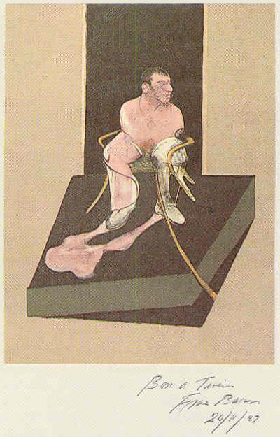 Study for the Portrait of John Edwards by Francis Bacon