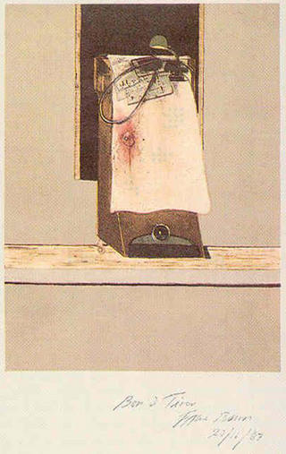 ... Trotsky's Study in Mexico, 1940 by Francis Bacon
