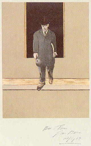 Wilson in Paris for the Peace Conference, 1919 by Francis Bacon