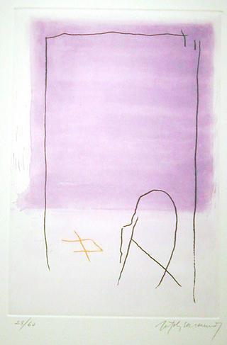 Rothko, Violeta (from the Policromia Series) by Albert Rafols Casamada