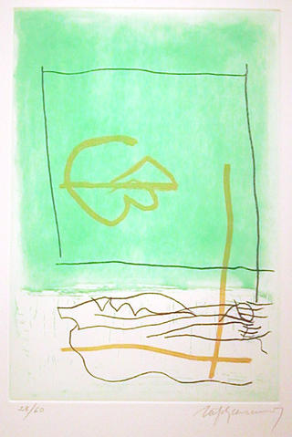 Picasso, Verd (from the Policromia Series) by Albert Rafols Casamada