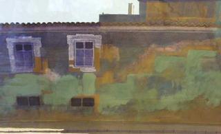 Shady Wall Portugal by Gregory Alexander RWS