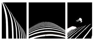 Triptych Nº1 (from the Arquigrafías Series) by Daniel Machado