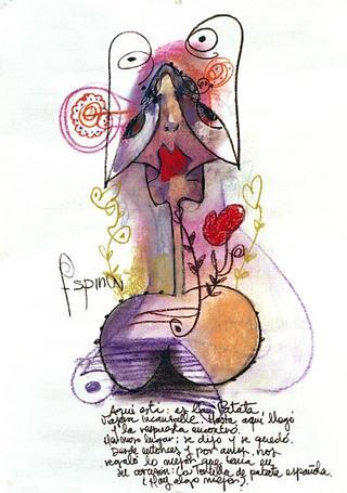 The Potato by Agustín García-Espina