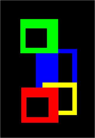 Square Atoms by Asbjorn Lonvig