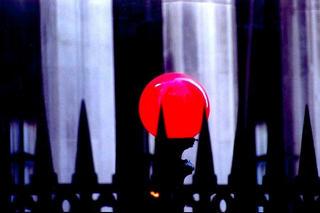 Cemetery Lamp, N.Y. Manhattan by Anya Bartels-Suermondt